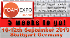 FOAM EXPO EUROPE - 10-12 September, Stuttgart, Germany