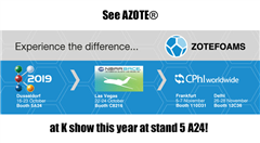 See AZOTE® at K show this year at stand 5 A24!