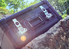 Protechnic Exo Case  combines the convenience of a fabricated case with the durability of a moulded transit case.