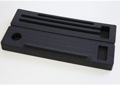 LD45 Black - Plastazote Foam Case (CNC Cut)