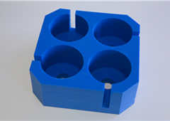 PE Blue Foam Tray-Holder