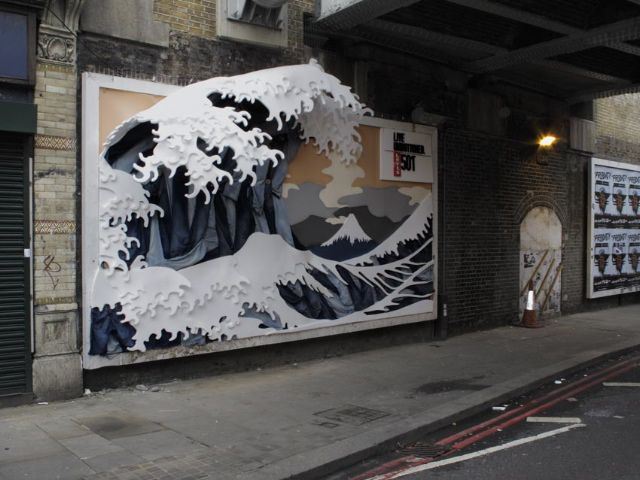 Old St billboard London - Foam Billboard for Levis.jpg