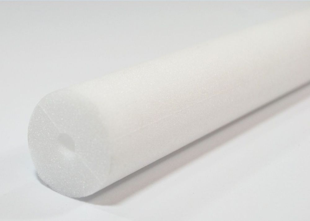 White closed cell foam tube