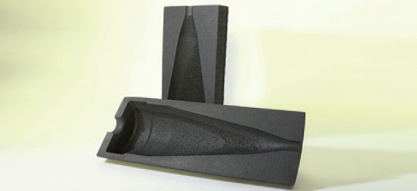 Defence foam packaging for missile head