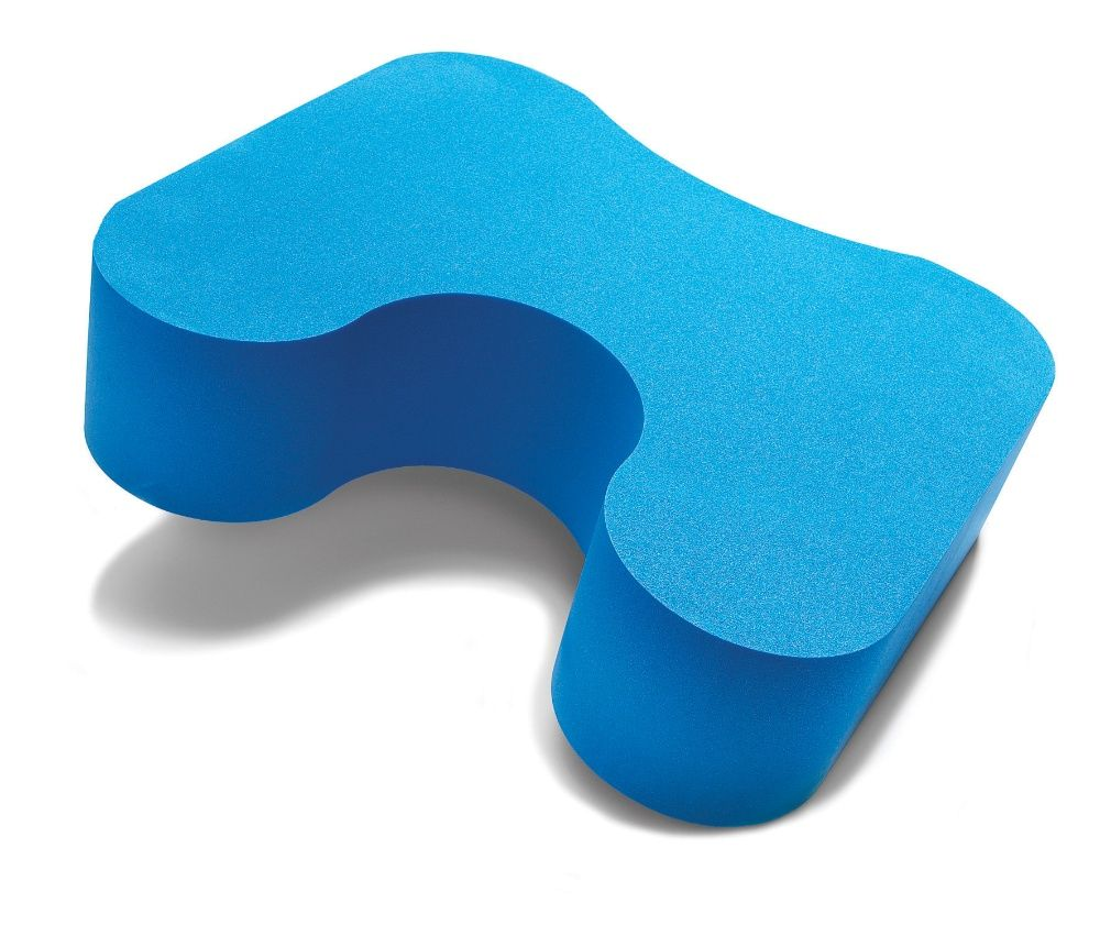Blue foam foot stool