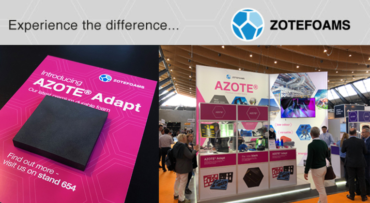 AZOTE® Adapt Premieres at Foam Expo Europe 2019