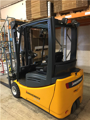 Brand New Forklift Arrived At Our Busy Shop Floor