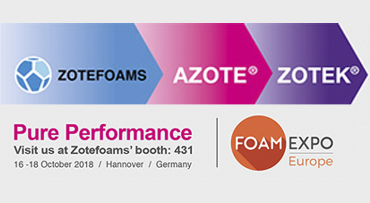 Experience Pure Performance at Foam Expo Europe!