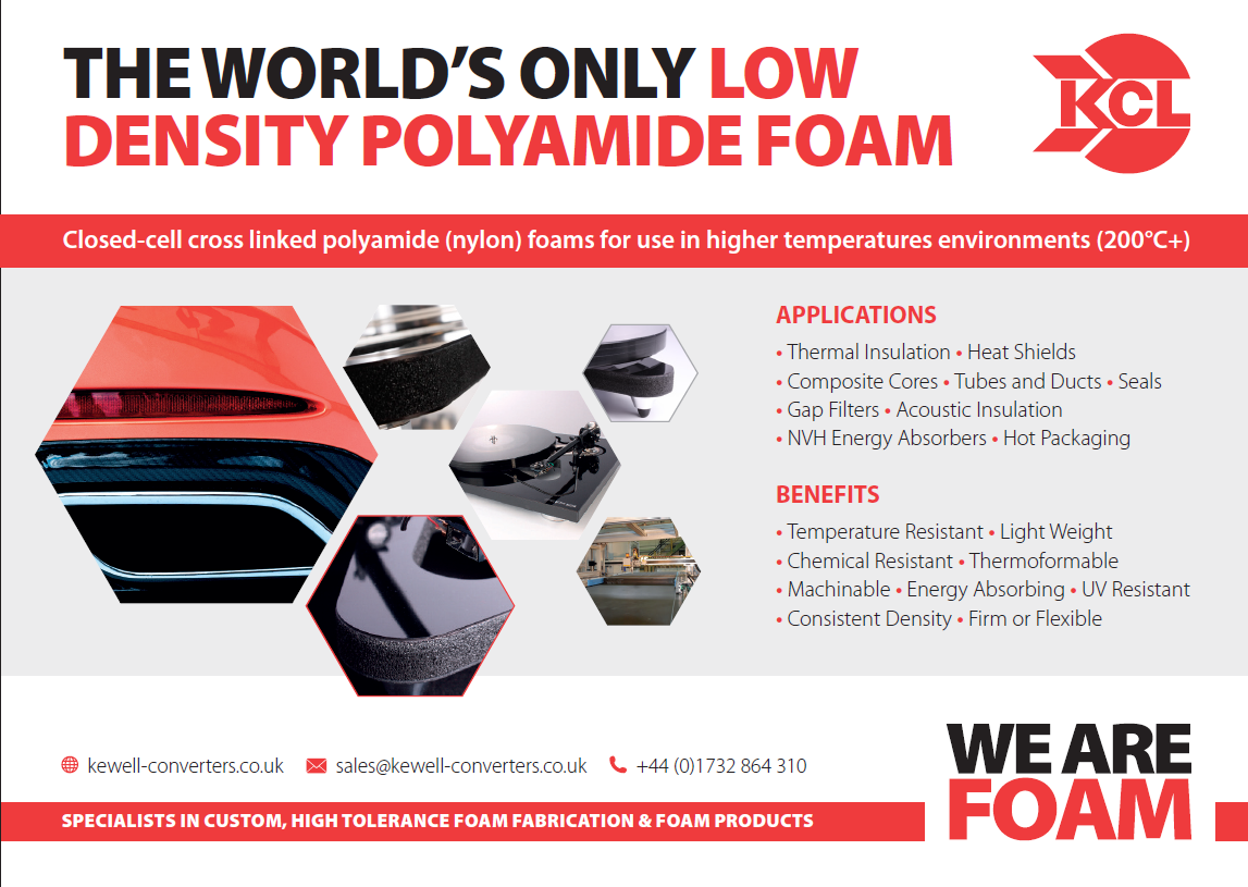 Foam Composite Advert by Kewells